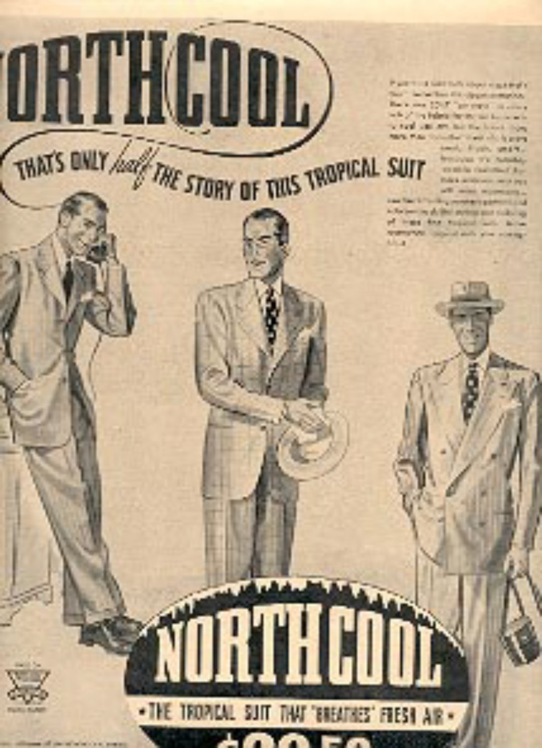 1947 Northcool Suit ad (# 2158)