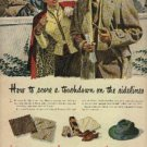 1945  Stetson  casual hat  ad (#1050)