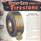 Oct. 9, 1944    Winter-Sure your car at Firestone  ad  (#2886)
