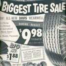 1960 Western Auto Tires  ad (#5508)