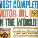 1960  Pennzoil Motor Oil  ad (# 5294)