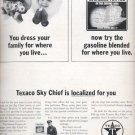 1964   Texaco Sky Chief Gasoline  ad (# 4839)