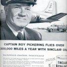 1957   Sinclair Extra Duty Motor Oil  ad (# 4629)