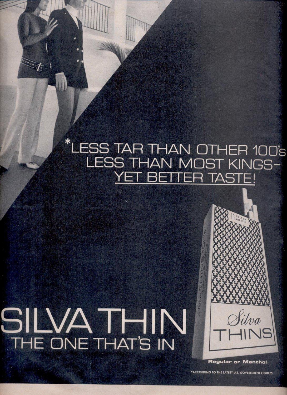 July 31, 1970  Silva Thin cig.     ad  (# 2837)