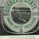 1961  Quaker State Motor Oil ad (   # 1284)