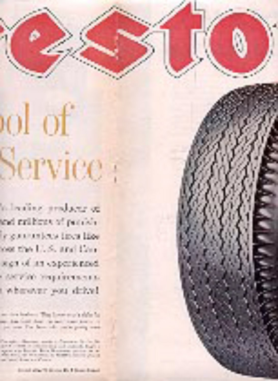 1962 Firestone ad ( # 3242)