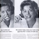 1964   Broxodent the automatic toothbrush from Squibb  ad (#5970)