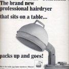 Nov. 1964 Schick consolette hairdryer   ad (#5774)