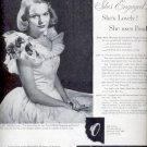 1946  Ponds Cold Cream  ad (# 5076)