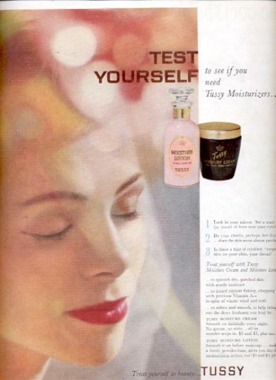 1959   Tussy Moisturizers ad (# 4453)