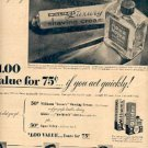 1948  Williams Shaving Products ad (# 2697)