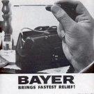 1962  Bayer Aspirin     ad ( # 2267)