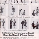 1961 Reach for  Listerine  Antiseptic  ad (# 2239)