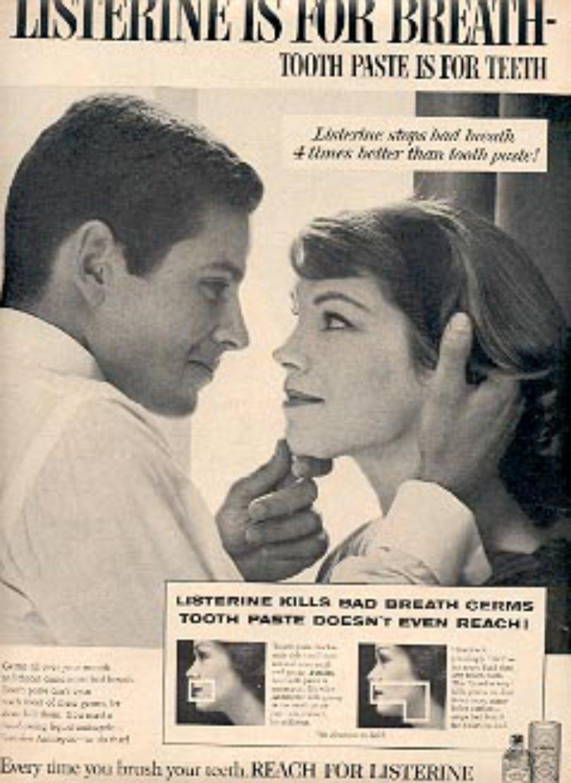 1960   Listerine  ad (# 2038)