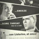 1962 Listerine Antiseptic   ad ( # 3302)