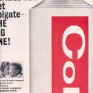 1964 Colgate Toothpaste ad ( # 2551)