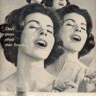 1962 Listerine Antiseptic   ad (#  2065)