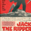 1960  Jack the Ripper movie ad (# 1619)