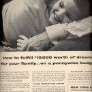 Dec. 13, 1955 New York Life Insurance company ad (# 834)