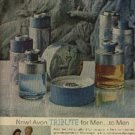 1963  Avon Tribute for Men ad (#  1135)