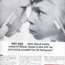 1963  Colgate Dental Cream ad ( # 1890)