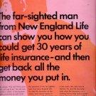 1967 New England Life Insurance Company  ad (#5448)