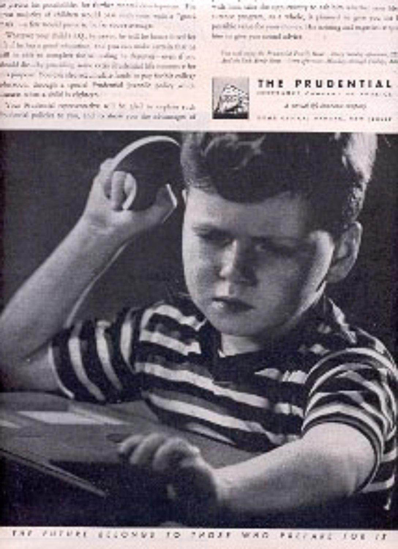 1946  Prudential Insurance Company  magazine ad (# 2486)