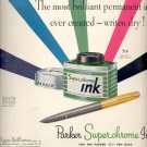 Sept. 1, 1947          Parker Superchrome Ink      ad  (#6429)