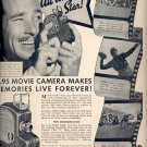 Oct. 25, 1937       UniveX Movie Camera  ad  (#6493)