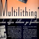 May 31, 1937      Multilithing  makes office dollars go further   ad  (#6524)