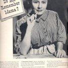 Aug. 9, 1948      U.S. Savings Bonds        ad  (#3444)