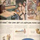 March 3, 1947  U.S. Koylon Foam- United States Rubber Company ad (#6166)