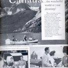 1960  Canadian Government Travel Bureau    ad (#5943)