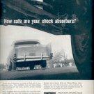 1960  Monro-Matic Shock Absorbers  ad (#5835)
