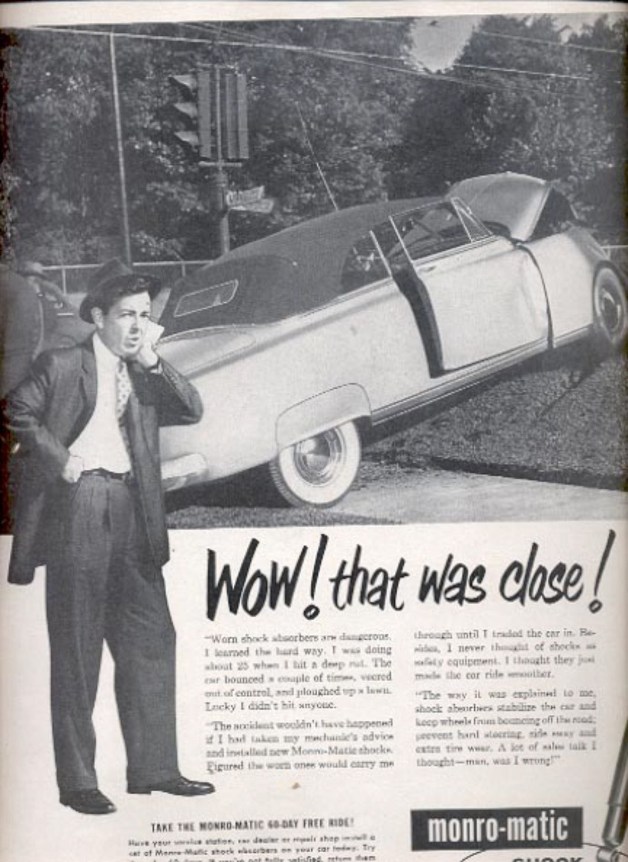 1959  Monro-Matic Shock Absorbers  ad (#5574)