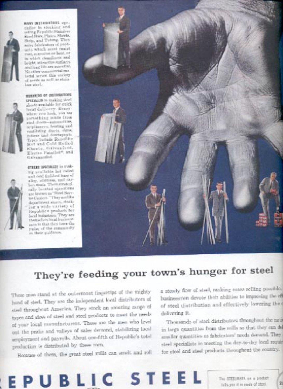1960  Republic Steel  ad (#5461)