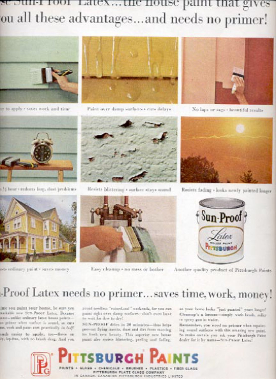 1964 Pittsburgh Paints  ad (#5406)