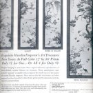 1964  Priceless hand-brocaded Chinese Panels reproduced for your home   ad (# 4907)