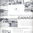 1957 Canadian Government Travel Bureau ad (# 4720)