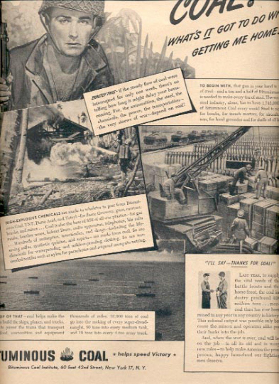 1945      Bituminous Coal Institute   magazine   ad (# 4426)