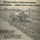 1970 Du Pont spray Lorox     ad (#4052)