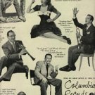1946 Columbia Records with Frank Sinatra ad (# 858)