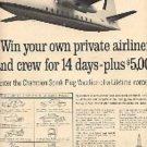 1962  Champion Spark Plug ad (# 3013)