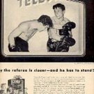 1948 General Electric Electronic Television ad (# 2998)