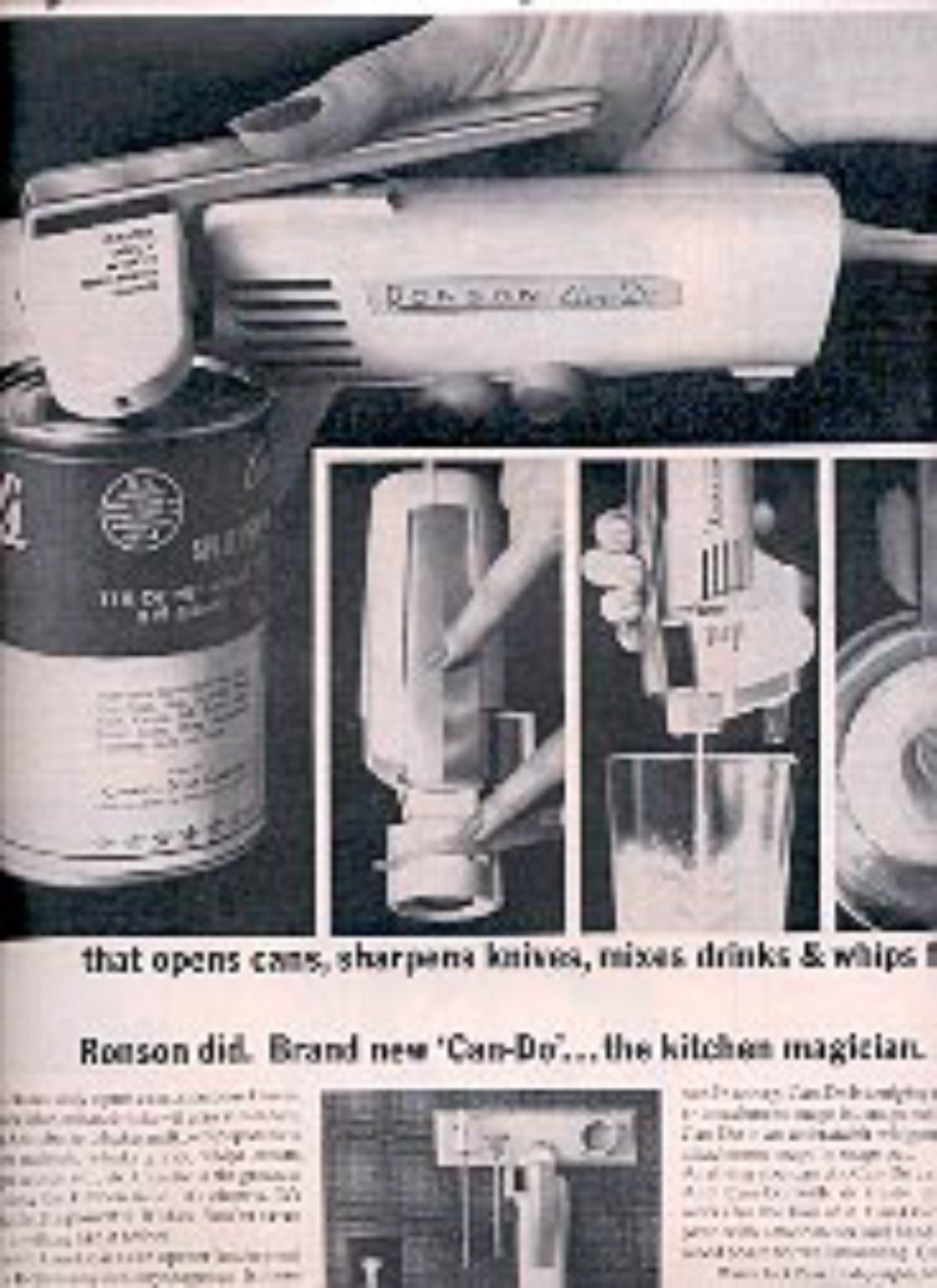 1962  Ronson Can- Do ad (# 1404)