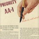 """1945 Parker """"51"""" Pen ad (# 817)"""