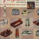 1960  Ronson table lighters ad (#641)