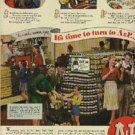 1945  A & P Super Markets ad (# 627)