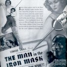 1939   The Man in the Iron Mask movie     ad (#5953)