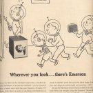 Dec. 13, 1955  Emerson Portable TV Model 1168   ad (# 725)